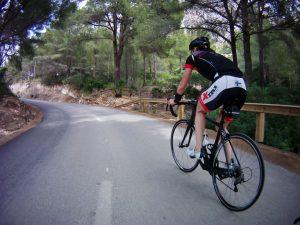 Mallorcalla tuli poljettua paljon, mutta se oli tarkoituskin.